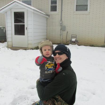 Dad & Joshua!