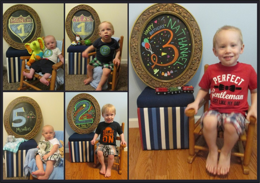 Nathanael Birthday Collage